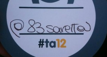 Tweet Awards 2012, una bella giornata