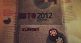 Il mio #BTO2012