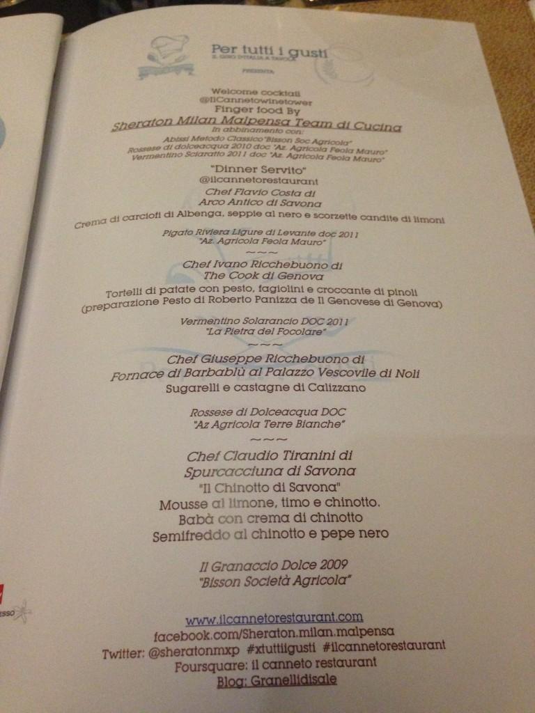 Per tutti i gusti fa tappa in Liguria