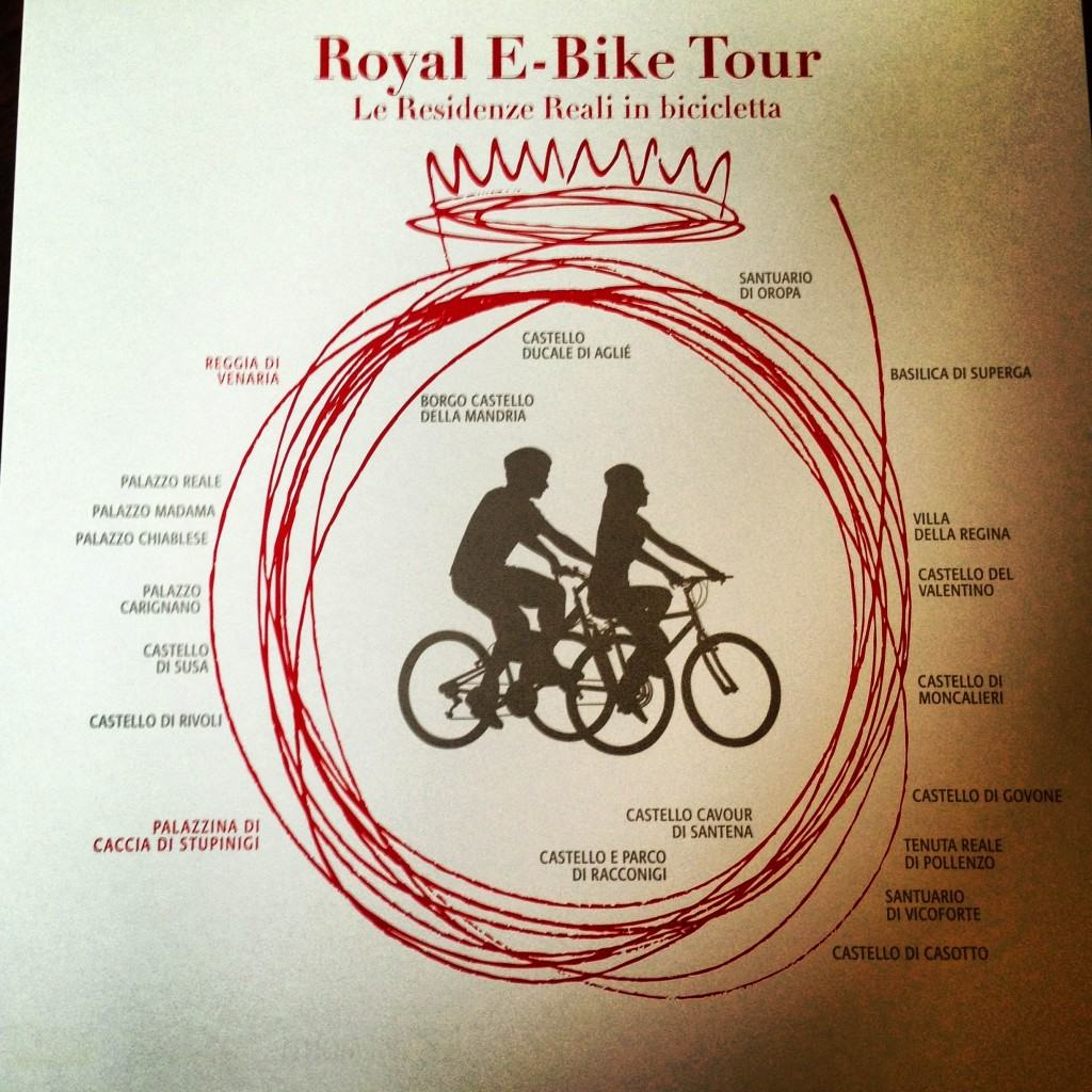 Da Torino a Stupinigi in bici