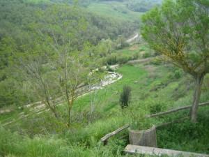 Vasca libera Bagno Vignoni