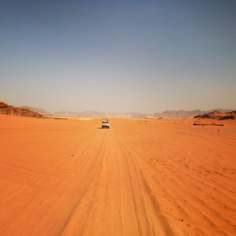 Wadi Rum in Giordania