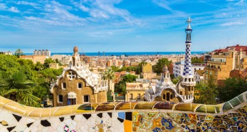 Architettura modernista di Gaudi