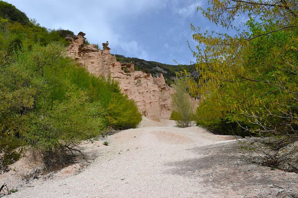 Marche escursione alle Lame Rosse