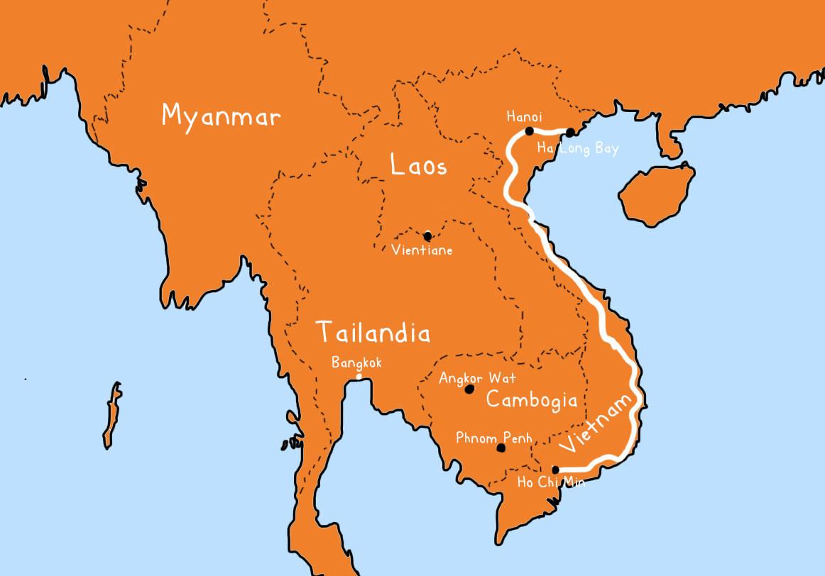 Carichi per il Vietnam