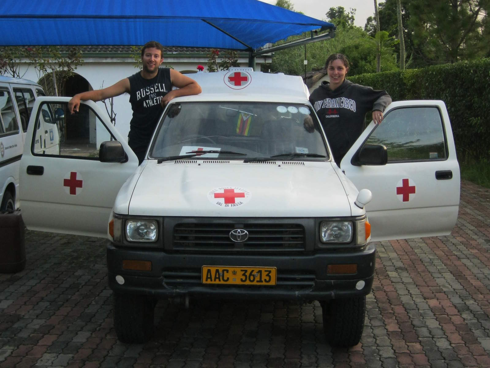 Volontariato in Zimbabwe