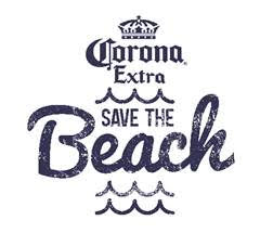 corona save the beach