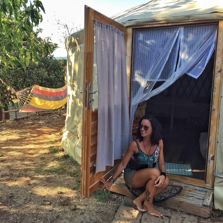 Maremma Toscana, dormire in Yurta