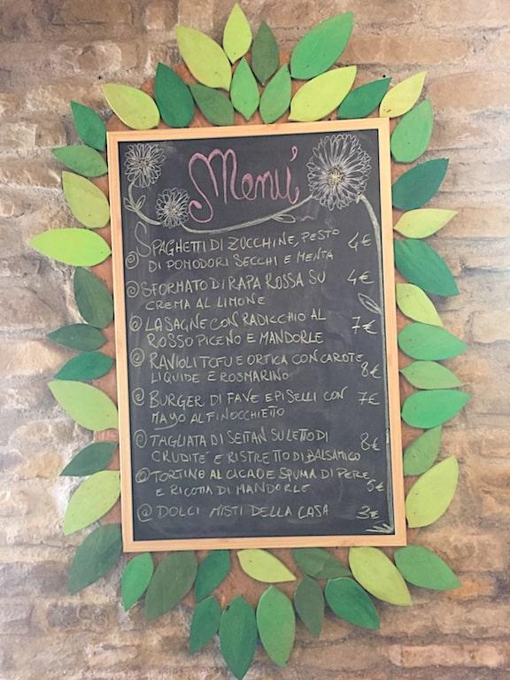 Marche, Agriturismo Becerca cucina veg