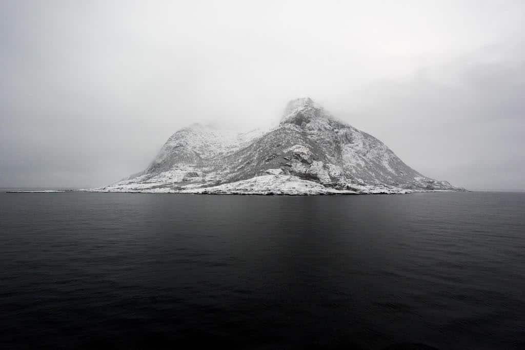 La Norvegia dei fiordi innevati