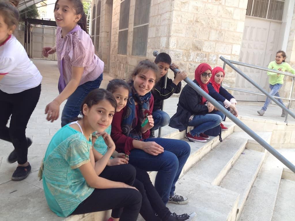 Palestina, volontariato in giro per il mondo