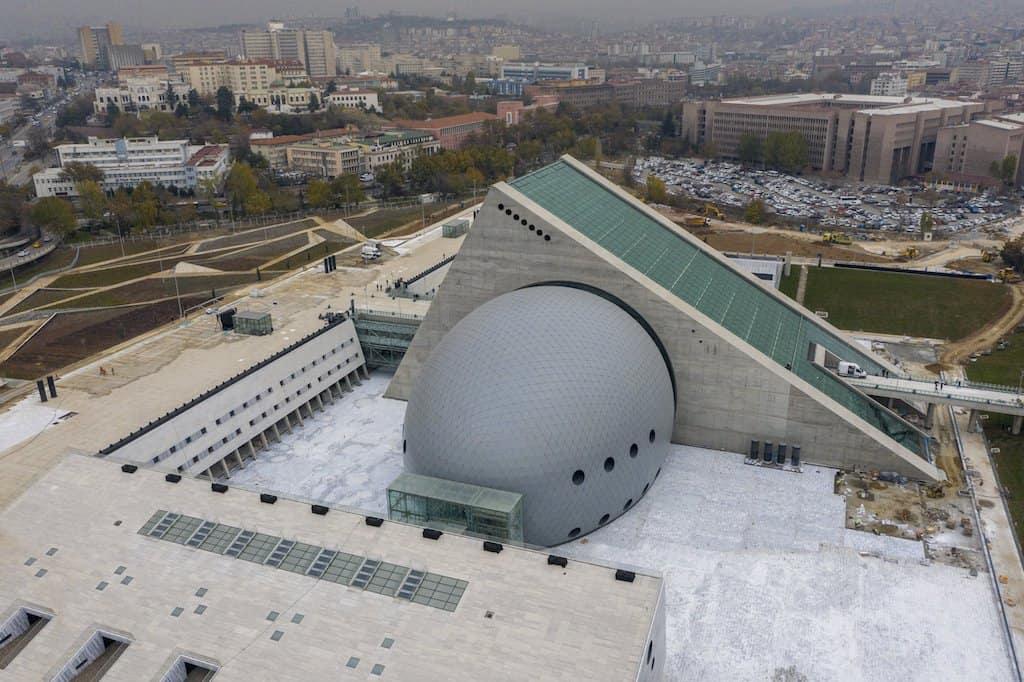 sala concerto di Ankara