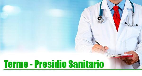 presidio sanitario toscana